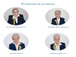 70e anniversaire