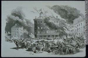 Grand incendie de Montréal 1852