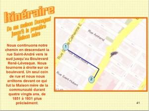 Itinéraire Étape 6