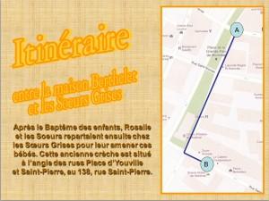 Itinéraire Étape 9
