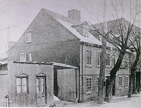 Maison de la rue Wolfe-rosalie